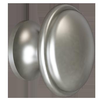 Matte Nickel Trunk Knob