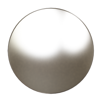 Satin Nickel Knob - Alternate View