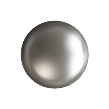 Matte Nickel Knob - Alternate View
