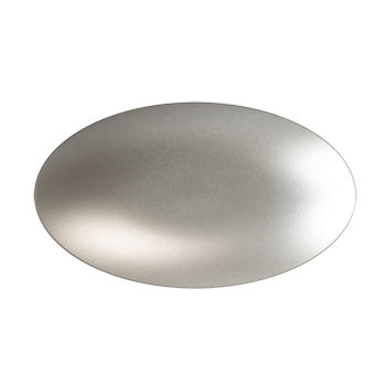 Matte Nickel Tailored Knob - Alternate View