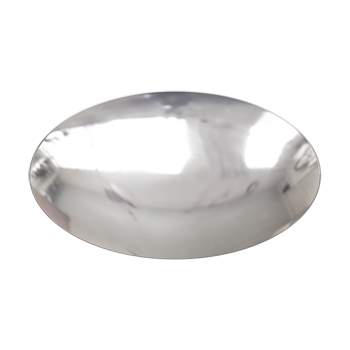 Polished Nickel Tailored Knob - Alternate View