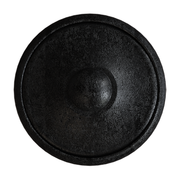 Blackened Pewter Knob - Alternate View