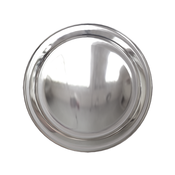 Polished Nickel Simplicity Knob - Alternate View