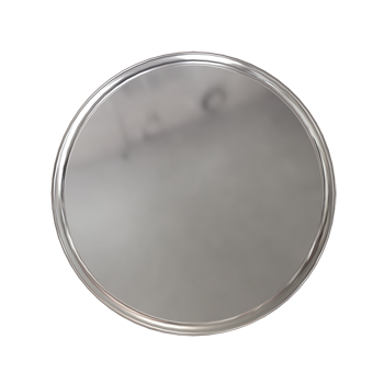 Polished Chrome Modern Knob - Alternate View