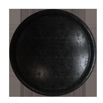 Blackened Pewter Trunk Knob - Alternate View