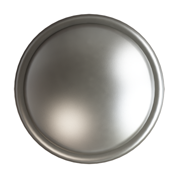 Matte Nickel Trunk Knob - Alternate View