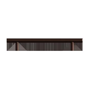 Ancient Bronze Bar Pull - Alternate View