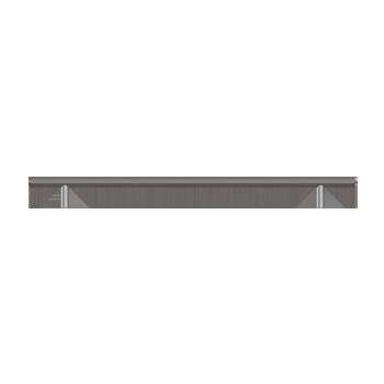 Stainless Steel Bar Pull - Alternate View
