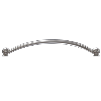 Polished Nickel Crescent Pull - Alternate View