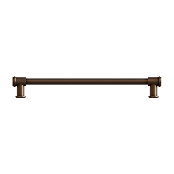 Brushed Bronze Baluster Pull - Alternate View