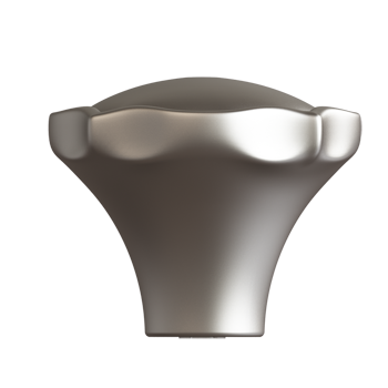 Satin Nickel Century Knob - Alternate View