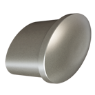 Matte Nickel Tailored Knob (7017.MN)