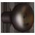 Aged Bronze Knob - Small