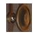 Venetian Bronze Rustic Knob - Small