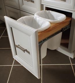 Base Double Wastebasket