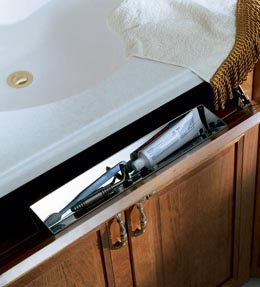 Stainless Steel Tilt-Out Tray
