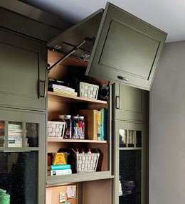 Wall Lateral Bi-Fold Cabinet