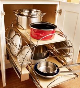 Base Cookware Storage Roll-out