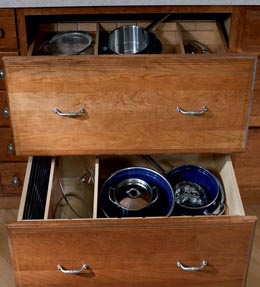 Base Pots and Pans Storage