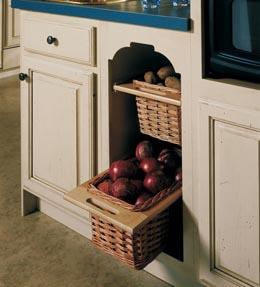 Storage Solutions Details Base Open Basket Cabinet