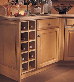 Base Wine Rack Cabinet