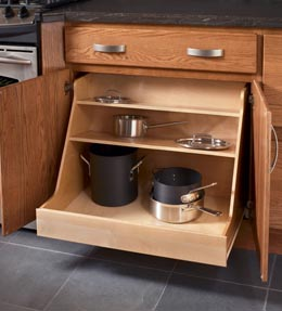 Base Pots and Pans Organizer Roll-out