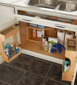 Sink Base Door Storage