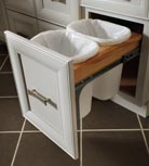 Base Double Wastebasket