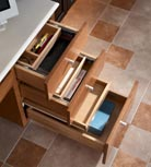 Desk Multi-Storage Drawer Cabinet