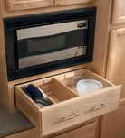 Wall Microwave Cabinet with Drawer