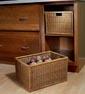 Kitchen - Food - Base Open Wicker Basket Cabinet