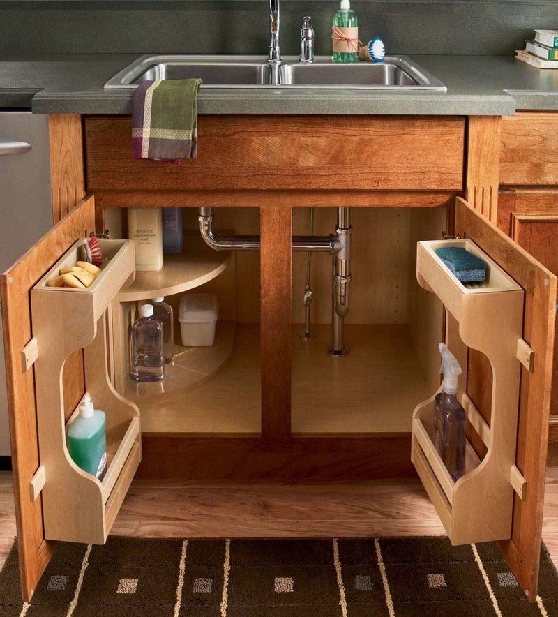 Kitchen cabinet cleaning kit - Sink Base Multi Storage Cabinet Kraftmaid Kraftmaid Cabinetry