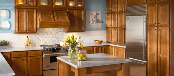 adding cabinets to existing kitchen design styles kraftmaid cabinetry 10459
