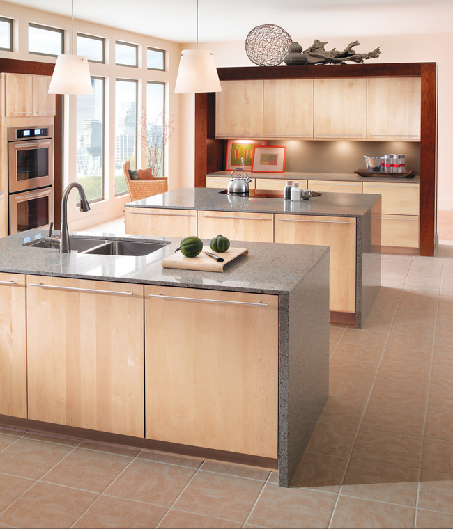 natural maple kitchen cabinets maple kitchen in kraftmaid 23707