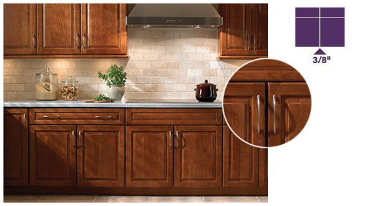 Kraftmaid cabinet doors only roselawnlutheran for Cherry vs maple kitchen cabinets