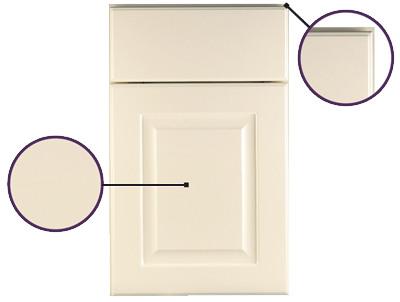 Finish Techniques : Thermofoil Finishes - KraftMaid Cabinetry