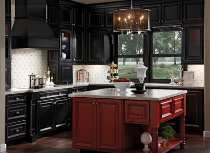 Islands Kraftmaid Cabinetry