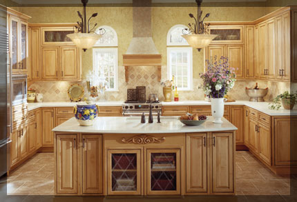 U Shaped Kitchen Layout u-shaped kitchen - kraftmaid cabinetry
